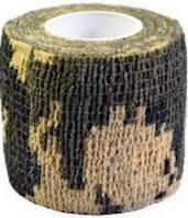 Лента маскировочная, камуфлированная  5 х 450 см, расцветка камуфляж ACU Camo.