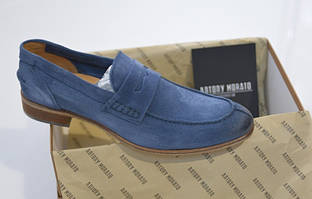Шикарные замшевые туфли-лоферы Antony Morato, Италия-Оригинал