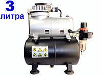 Безмасляний компресор для аерографа Miol 81-125