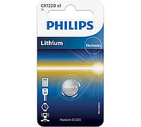 Батарейки кнопочные, литевые. Philips