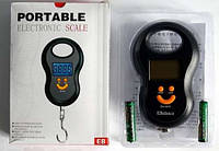 Весы электронные Portable electronic scale, на 50кг