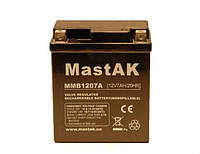 Аккумулятор для мотоцикла MMB1207A MastAK 12V 7Ah