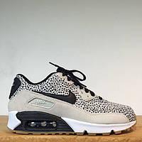 Кроссовки женские  Nike Air Max 90 Safari Premium Jungle Frog(найк аир макс)