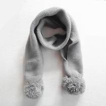 Детский вязаный шарф