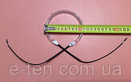 Тэн (нагреватель галогеновый) для аэрогриля Ø110мм / 1000W / 230V      Китай