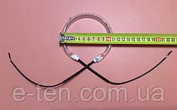 Тен (нагрівач галогеновий) для аэрогриля Ø110мм / 1000W / 230V Китай