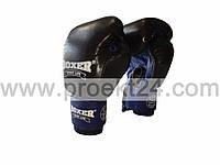 Перчатки бокс. 8 оz комбинированные, черные