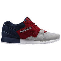 Кроссовки Reebok GL 6000 Red Tin Grey Navy White  43