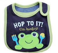 Нагрудник хлопковый Carter´s Hop to it  темно синий