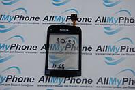 Сенсорный экран для мобильного телефона Nokia C2-02 / C2-03 / C2-06 черный