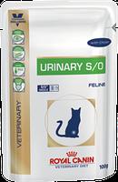 Royal Canin URINARY S/O (пауч, c курицей) диета для кошек при мочекаменной болезни (85 г)