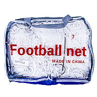 Сетка футбольная безузловая D=3mm, ячейка: 7*7;  рр: 5,5*2,44m FN-05-7