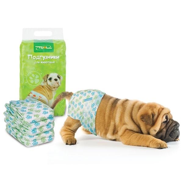Пеленки и памперсы для собак