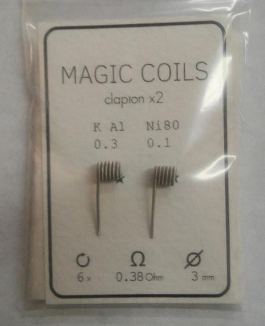 Готовые спирали - MAGIC COILS Fused Clapton   12