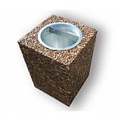 """Урны бетонна """"Куб"""" с ведром"""