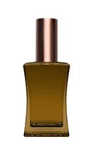 Цветной Флакон для парфюмерии Имидж 50 мл спрей коричневый