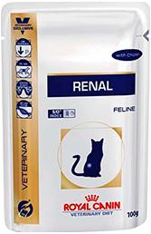 Royal Canin RENAL с курицей  диета для кошек с хронической почечной недостаточностью (85 г)
