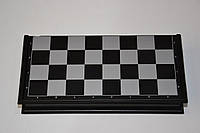 Шахматы, шашки, нарды дорожный набор  (пластик, фигуры на магнитах, р-р доски 36см*36см)