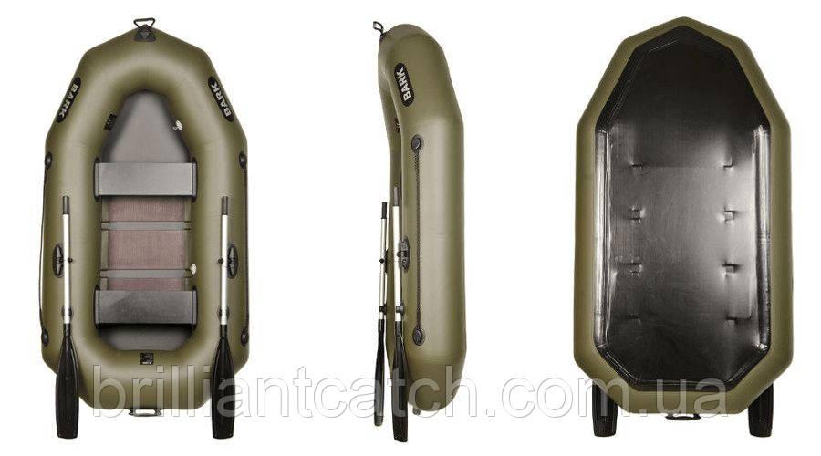 Надувная лодка Bark - двухместная гребная