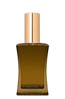 Цветной Флакон для парфюмерии Имидж 50 мл спрей золото
