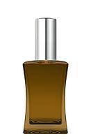 Цветной Флакон для парфюмерии Имидж 50 мл спрей серебро