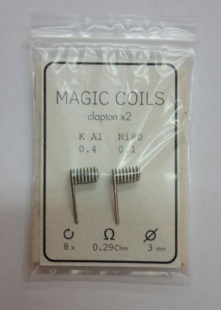 Готовые спирали - MAGIC COILS Fused Clapton   17