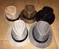 "Стильная шляпа ""Челентанка"" 0035 / в расцветках"