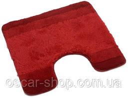 Коврик для туалета Spirella BALANCE, 55х55 красный
