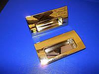 Ручки на раздвижную дверь маленькие золото, фото 1