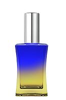 Цветной Флакон для парфюмерии Шабо 35 мл спрей серебро