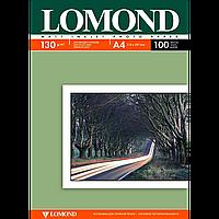 Матовая фотобумага lomond двухсторонняя 130 гр/м a4*100 листов (0102004)