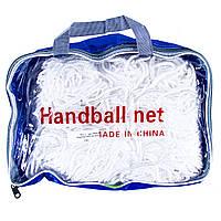 Сетка для футзала и гандбола безузловая (2шт)  D=4mm, р-р3x2м, яч. 7х7см HN-2