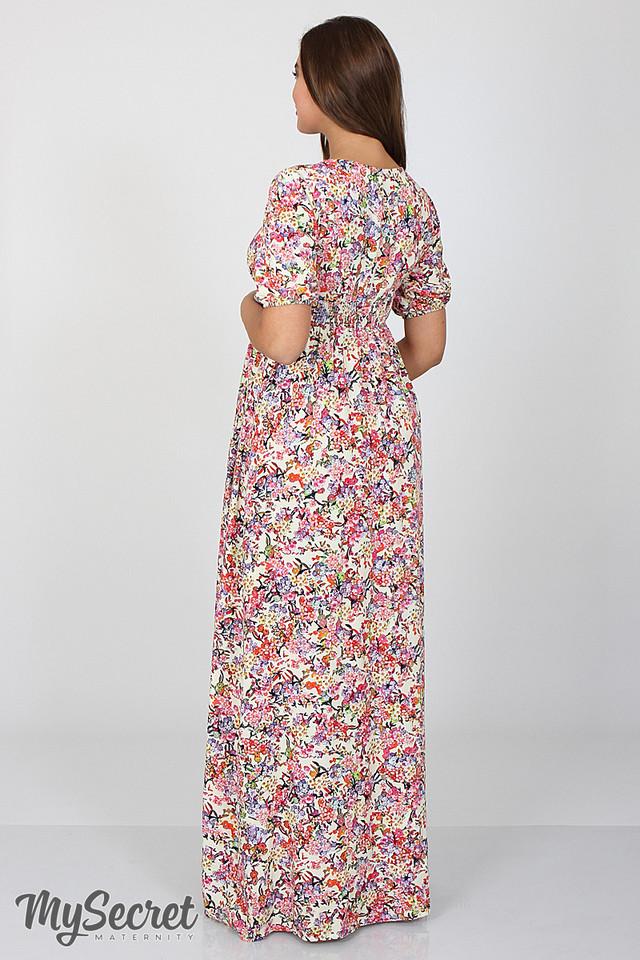 7c68b3e0fbb2 Шикарное длинное платье для беременных и кормления Tamana, мелкие ...