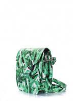 Кожаная сумка-клатч Poolparty Daisy