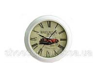 Стильные настенные часы Ретромобиль в стиле Прованс