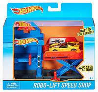 Игровой набор Hot Wheels Робо лифт Автосервис, Хот вилс DWL02, DWK99-3