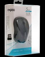 RAPOO Wireless Optical Mouse black (3100р)