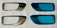 Накладки на внутренние ручки дверей Mazda 6  2003-2007 г.