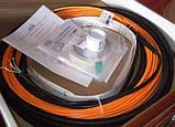 Тонкий двухжильный кабель Woks-10 500W (53м), фото 2