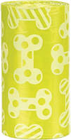 Сменные пакеты Trixie Dog Dirt Bags для сумки для фекалий M, с запахом лимона, 4х20 шт