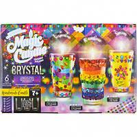 """Набор парафиновые свечи с кристаллами """"Crystal Candle"""""""