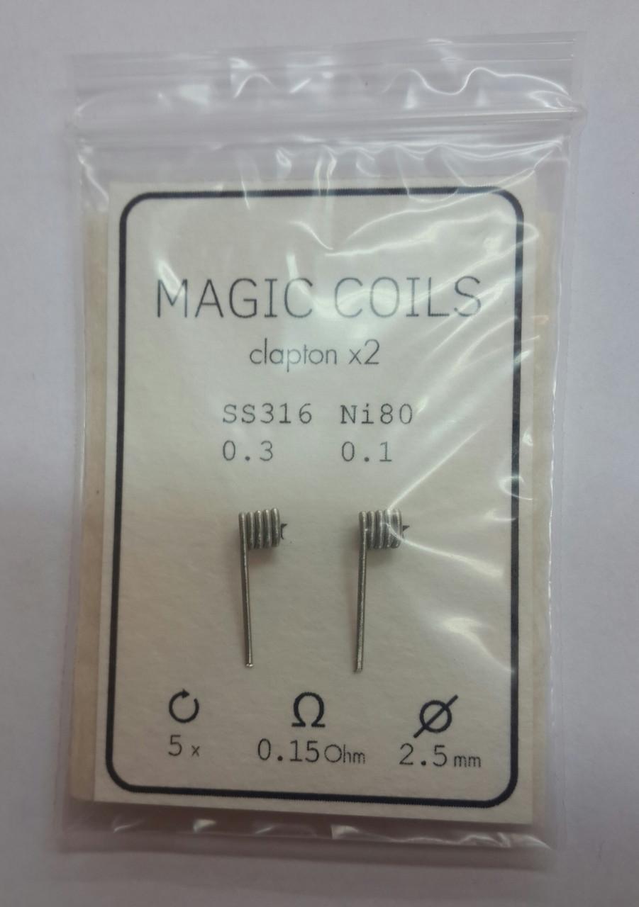Готовые спирали - MAGIC COILS Fused Clapton   21