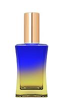 Цветной Флакон для парфюмерии Шабо 35 мл спрей золото