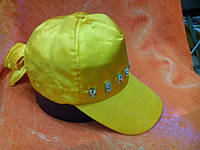 Бейсболки атлас Турция с камнями, желтая, фото 1