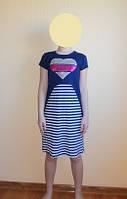 Комплект платье майка с топ футболкой