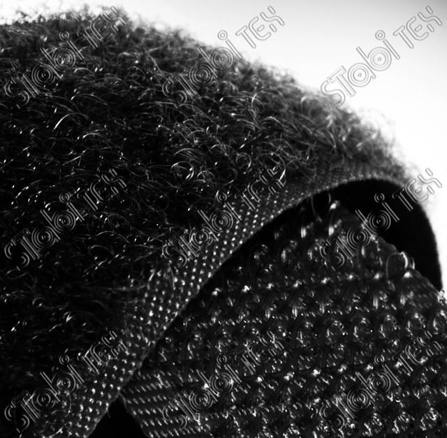 Липучка швейная 3см чёрная