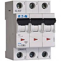 Автоматический выключатель трехполюсный 3х63а ЕАТОN (Moeller) PL-4