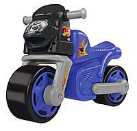 Мотоцикл каталка Стильная классика с резиновыми колесами BIG 56331