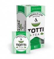 """Чай зеленый TOTTI """"Изумрудный лист"""" 25х 2гр."""