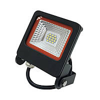 LED прожектор с радиатором 10W Eurolamp LED-FL-10(black)new